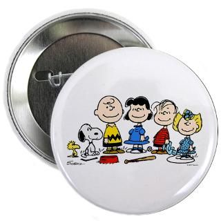 Peanuts Gang 2.25 Button  Peanuts Gang  Snoopy Store