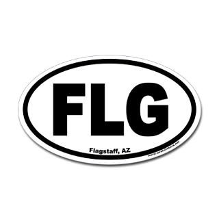 flagstaff arizona flg oval sticker $ 4 49 color white clear qty