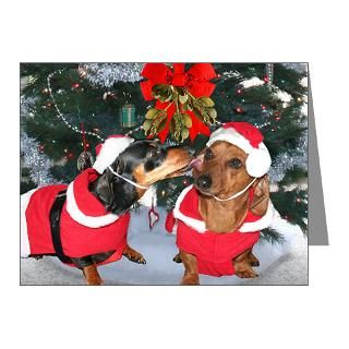 Gifts > Animals Note Cards > Mistletoe Kiss Note Cards (Pk of 10