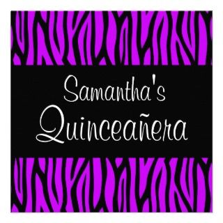 Para Quinceaneras Invitations, Announcements, & Invites