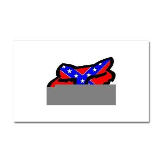 Car Accessories > Confederate Fox Racing Logo Car Magnet 20 x 12