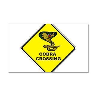 Auto Gifts  Auto Wall Decals  Cobra Crossing 22x14 Wall Peel