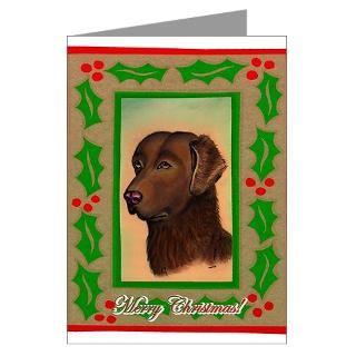 chesapeake bay retriever dog christmas cards 20