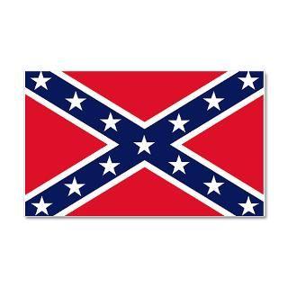 Civil War Gifts  Civil War Wall Decals  Confederate Flag 35x21