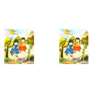 Korean Babys First Birthday Greeting Card