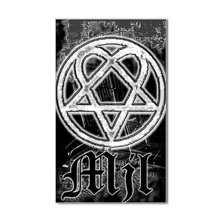 Heartagram Stickers  Car Bumper Stickers, Decals