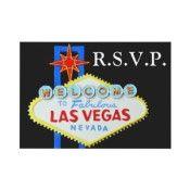 Lucky in Love Casino Theme Wedding Personalized Invite