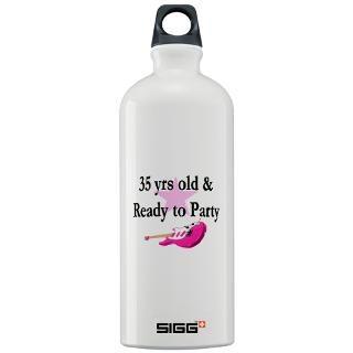 35 yr old rock star sigg water bottle