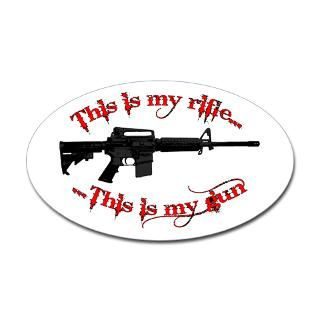 Black Rifle Stickers  Car Bumper Stickers, Decals