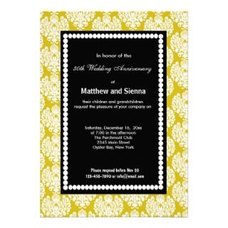 French Country Anniversary Custom Invitation