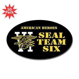 Seal Team Six Sticker (Bumper 50 pk)