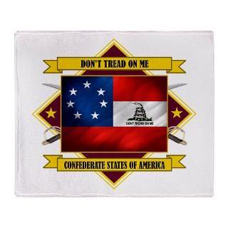 Rebel Flag Fleece Blankets  Rebel Flag Throw Blankets