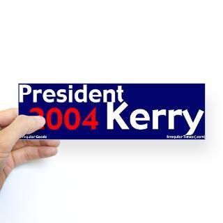 president kerry 2004 bumper sticker $ 4 65