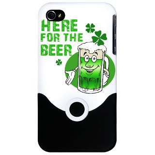 Here For The Beer T shirts  Shamrockz   Funny St Patricks Day T