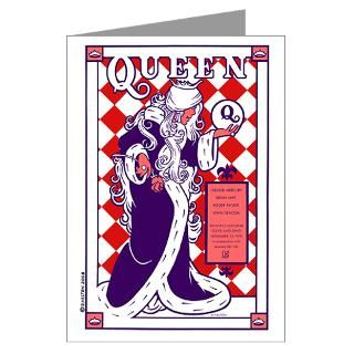 Queen 70s rock Greeting Card