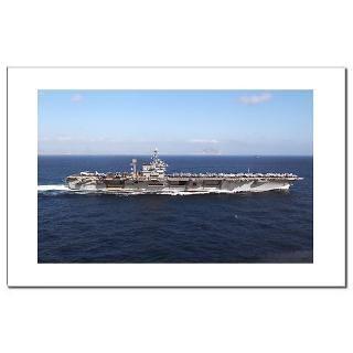 USS JFK (CV 67) Mini Poster Print  USS John F. Kennedy (CV 67) Ships