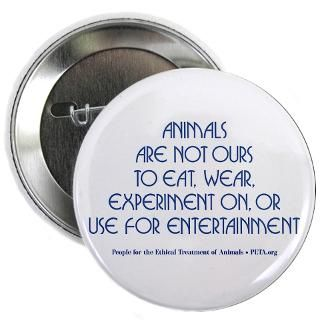 animals are not ours button 2 25 button $ 3 74