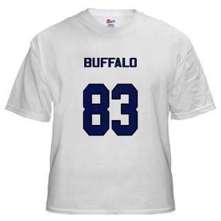Bills player 83 White T shirt