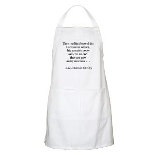 Bible Verses Aprons  Custom Bible Verses Aprons