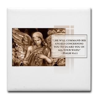 Gifts  Kitchen and Entertaining  Bible Verse Tile Coaster