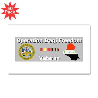 oif veteran rectangle sticker 50 pk $ 93 09