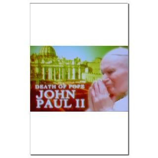 paul ii small poster $ 18 94 pope john paul ii large poster $ 22 94