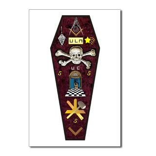 Coffin Postcards (Package of 8)