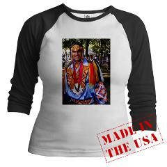Native American Indian Long Sleeve T Shirt by americanindian