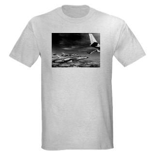 shirts > F 105 Thunderchief Fighter Light T Shirt