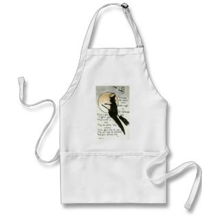Halloween Witch / Witches Quote / Poem / Spell Apron