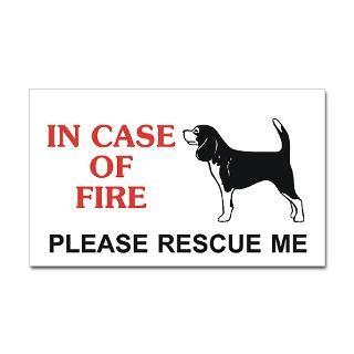 Beagle Rescue Stickers  Car Bumper Stickers, Decals