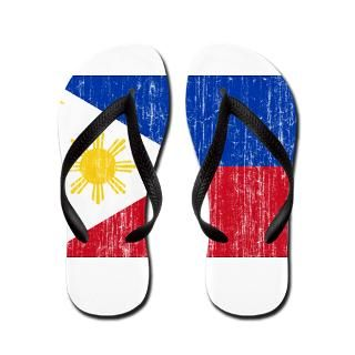 Art Gifts > Art Bathroom > Philippines Flag Flip Flops