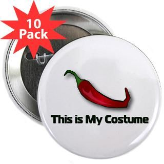 This is My Costume  Chili Head Hot and spicy chili peppers