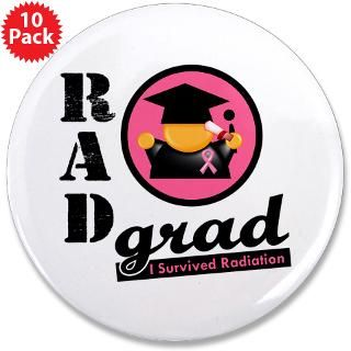 RAD Grad Breast Cancer Survivor T Shirts, Tees, Apparel, Merchandise