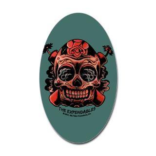 Skull Gun Stickers  Car Bumper Stickers, Decals
