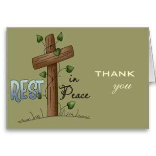 Gracias por sus condolencias tarjeta de