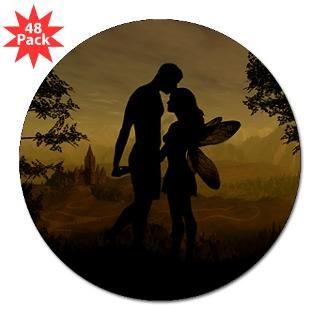Forbidden Love  Fairy Fantasy Silhouettes by Julie Fain