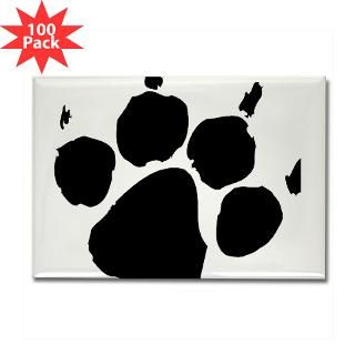 wild paw print rectangle magnet 100 pack $ 148 99