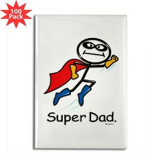 super dad rectangle magnet 100 pack $ 144 99
