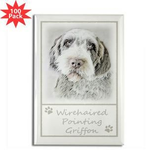 wirehaired pointing griffon rectangle magnet 100 $ 148 99