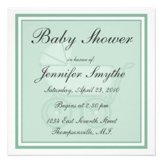 baby carriage baby shower invitation don t hand write each invitation
