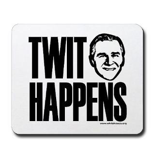 TWIT HAPPENS  White House Gift Shop Officious Political Gear