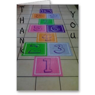 CHILDS BIRTHDAY THANK YOU CARD