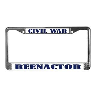 Civil War License Plate Frame  Buy Civil War Car License Plate