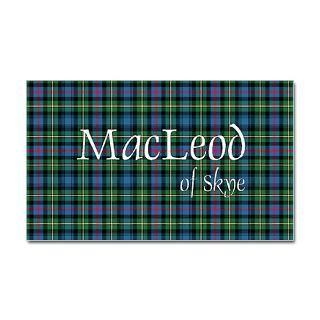 Tartan   MacLeod of Skye Sticker (Bumper 50 pk)