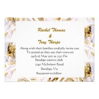 Ribbons background wedding invite