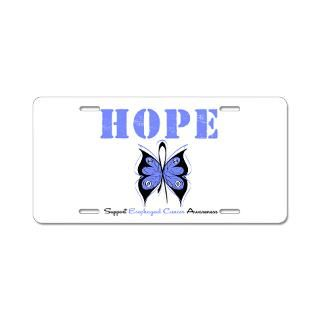 Hope Butterfly Esophageal Cancer Shirts & Gifts  Shirts 4 Cancer