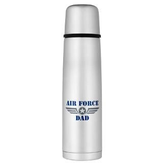 Air Force Gifts  Air Force Drinkware  Air Force Dad Large Thermos