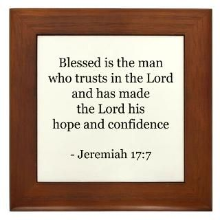 Jeremiah 177 Framed Tile for $15.00