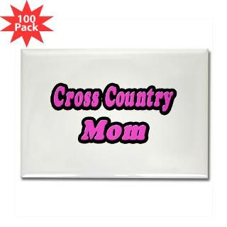 cross country mom pink rectangle magnet 100 p $ 179 99